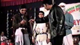 al ameen medical college students; kanger group in a skit (gabbar mix )