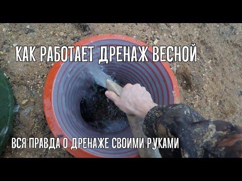 Дренаж фундамента дома своими руками на глинистых почвах