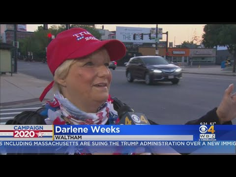 Trump Supporters Line Up Overnight Ahead Of NH Campaign Appearance