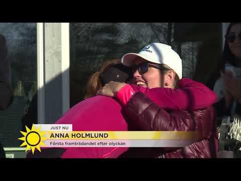 """""""Anna knyter näven och vill verkligen tillbaka"""" - Nyhetsmorgon (TV4)"""