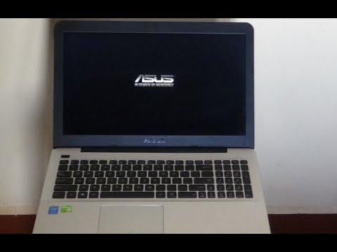 ASUS A555L Battery Replacing.
