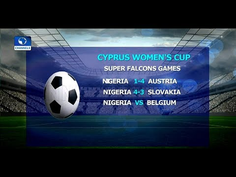 Falcons Beat Slovakia 4-3 In Cyprus Women's Cup |Sports Tonight|