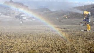 Sierra Nevada prepara el sistema de nieve producida para la temporada 2015/16