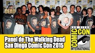 The Walking Dead | Panel Comic Con 2015 (Subtitulado)