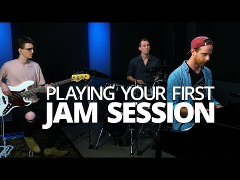 Playing Your First Jam Session - Piano Lesson (Pianote)
