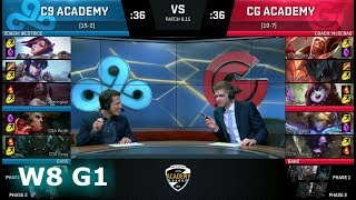 Video Cloud 9 Academy vs Clutch Gaming Academy | Week 8 NA Academy League Summer 2018 | C9A vs CGA download MP3, 3GP, MP4, WEBM, AVI, FLV Agustus 2018