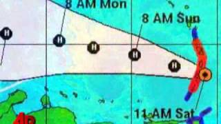 Tomas Now a Hurricane, Threatens East Caribbean