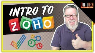 Zoho Is A Great Google Alternative!