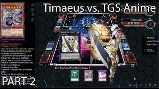 Christmas 2018 Special (YGO Pro 2) - Timaeus vs. TGS Anime! PART 2 (Shiranui Droch vs. Gagaga) [HD]