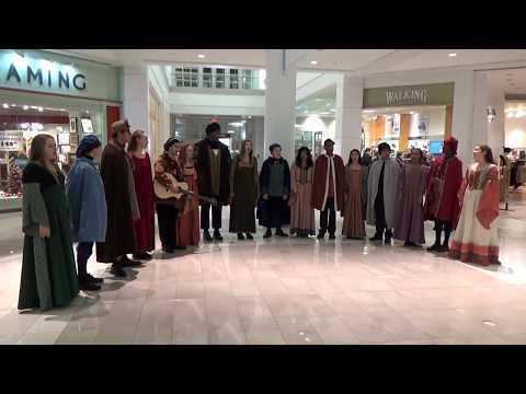 FHS Madrigal Choir at Menlo Park Mall 2019-12-19