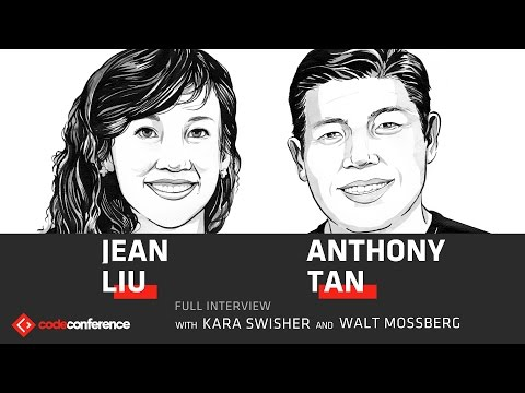 Everyone vs. Uber | Jean Liu President, Didi and Anthony Tan CEO, Grab | Code Conference 2016