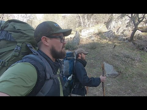 Backpacking Trip Along The Tule River