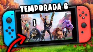 así se ve la TEMPORADA 6 de FORTNITE en una Nintendo SWITCH 😐 ¿SE VE PEOR?