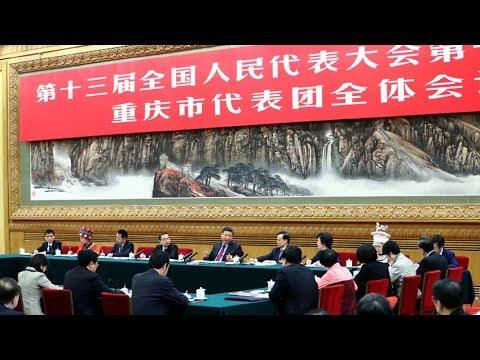 President Xi joins NPC deputies from Chongqing Municipality