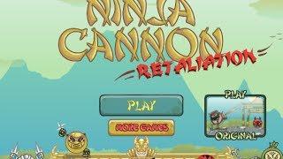 Ninja Cannon Retaliation Level 1-13 Walkthrough