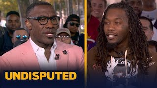 Offset makes bold prediction for Super Bowl LIV, Remembers Kobe   UNDISPUTED   LIVE FROM MIAMI
