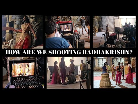 HOW ARE WE SHOOTING RADHAKRISHN?   FIRST DAY ON SET AFTER LOCKDOWN   ACTOR'S EDITION