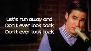 Glee - Teenage Dream (Acoustic version) (Lyrics)