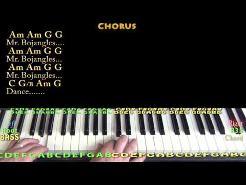 Mr Bojangles (Jerry Jeff Walker) Piano Cover Lesson in C with Chord/Lyrics