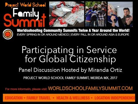 Participating in Service for Global Citizenship