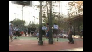 09年沙田B Grade籃球 D2 梁文燕VS佛教覺光