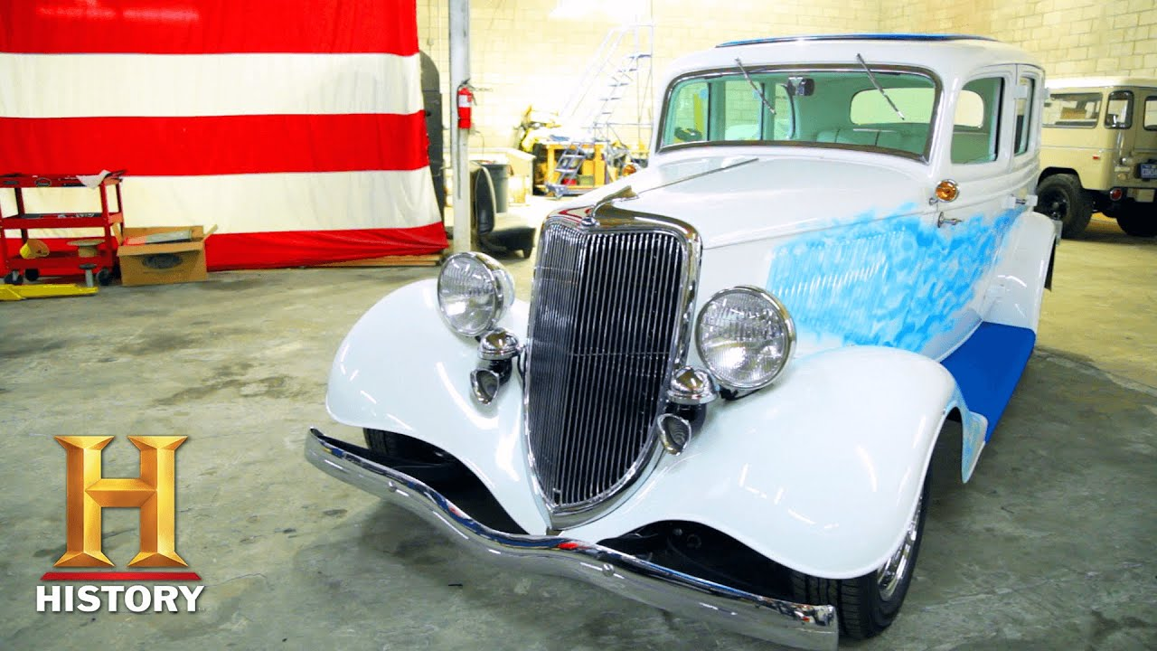 Download Counting Cars: Customized 1934 Ford is Ready to Travel the World (Season 3)   History