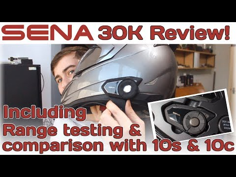 Sena 30K Review with range testing!