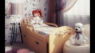 видео Детские кровати-трансформеры, растущие вместе с ребенком