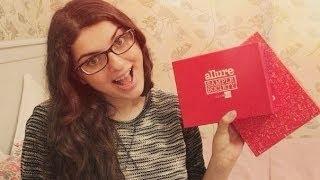 allure sample society by GlamBox (сентябрь 2013) - огромная коробка!!!!