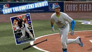 GRAND SLAM! 97 Troy Tulowitzki Debut! - MLB The Show 17 Diamond Dynasty Gameplay