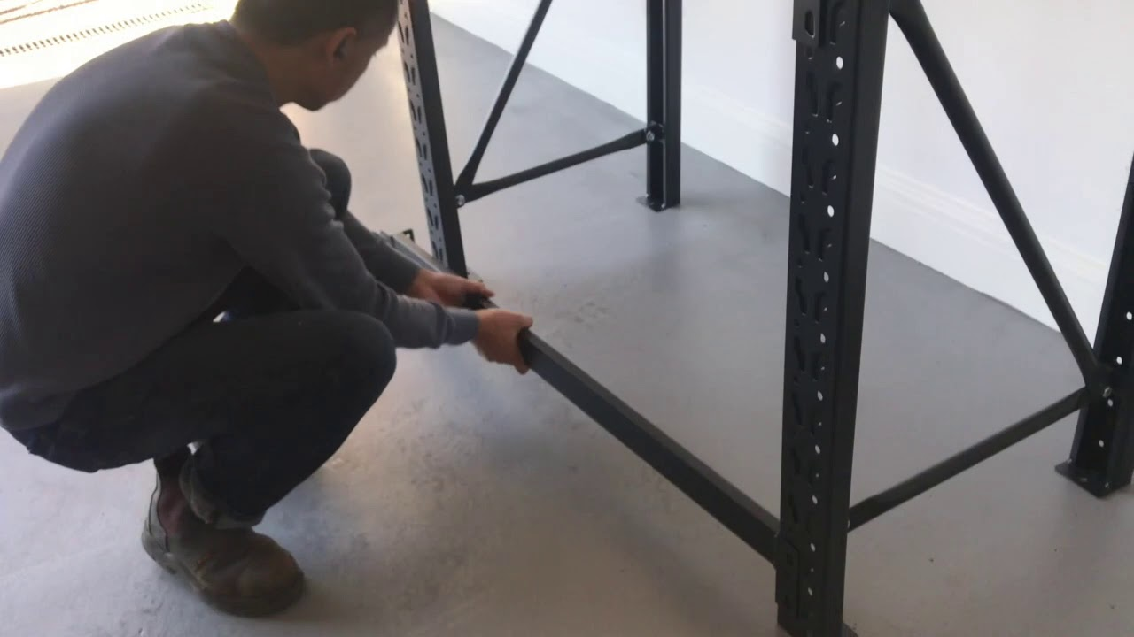 How to assemble the long span workbench