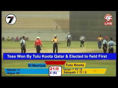 Tulu Koota Qatar Vs XI warriors HPLT10 Qatar 2016 Live from Doha Qatar