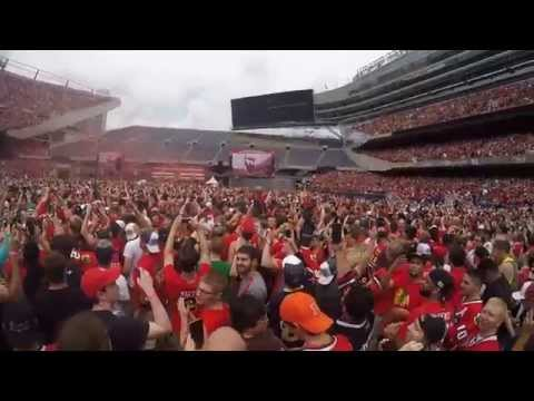 2015 Chicago Blackhawks Parade Pregame & Rally