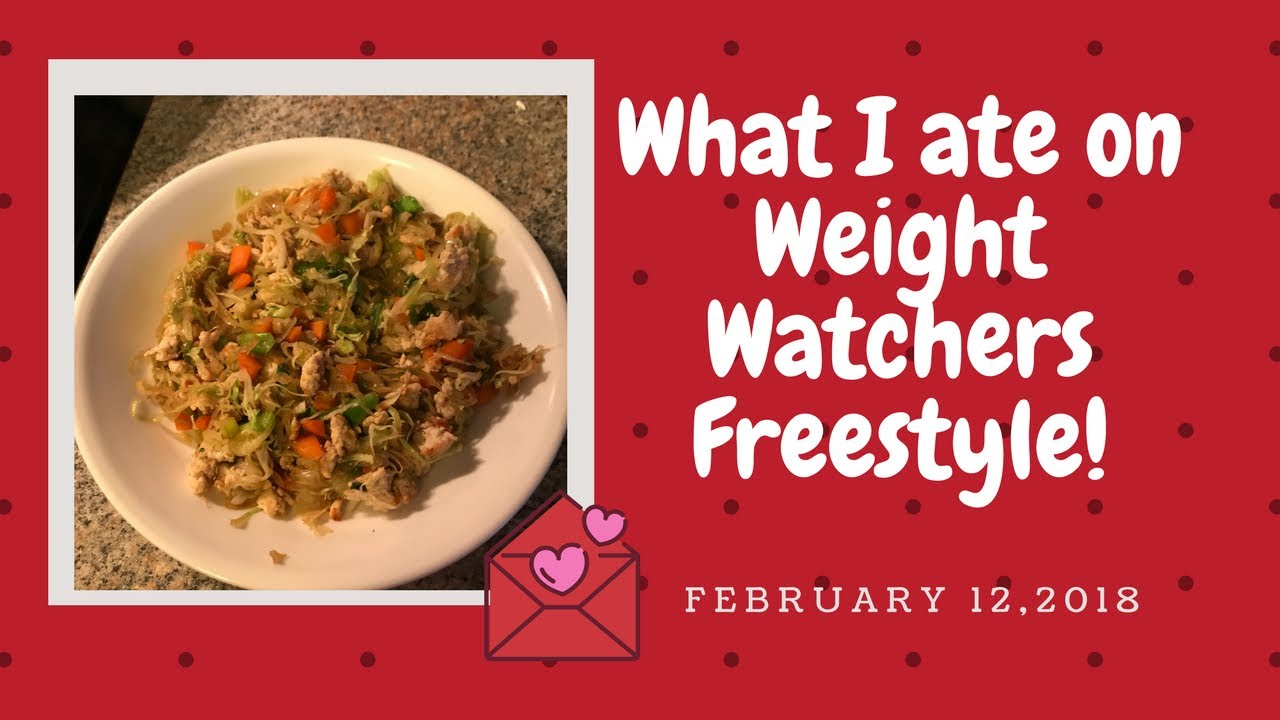 what i ate on weight watchers freestyle february 12 2018 youtube. Black Bedroom Furniture Sets. Home Design Ideas