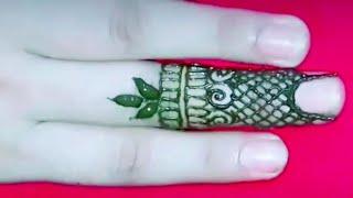 ll Short Detailed Finger Design #Mehndi Arts Henna ll