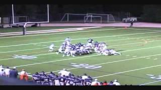 Devon Lee #35 2010 Junior Chaminade College Prep Football Highlights (raw footage)