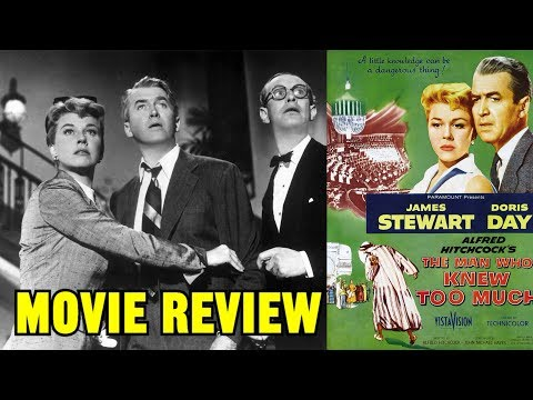 """Alfred Hitchcock's """"THE MAN WHO KNEW TOO MUCH"""" (1956) - Movie Review"""