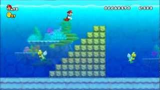 New Super Mario Bros Wii. Retro Remix Walkthrough Part 1