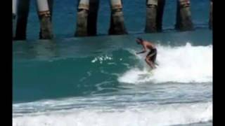 surfing lake worth pier 3 30 2010 music from metric live at buzz bake sale wmv