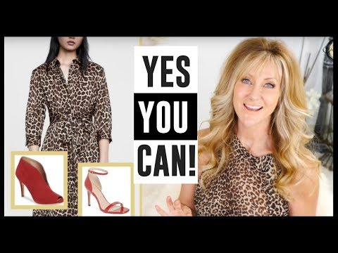 How To Wear Animal Print Over 50 And Stay On Trend! Fabulous50s