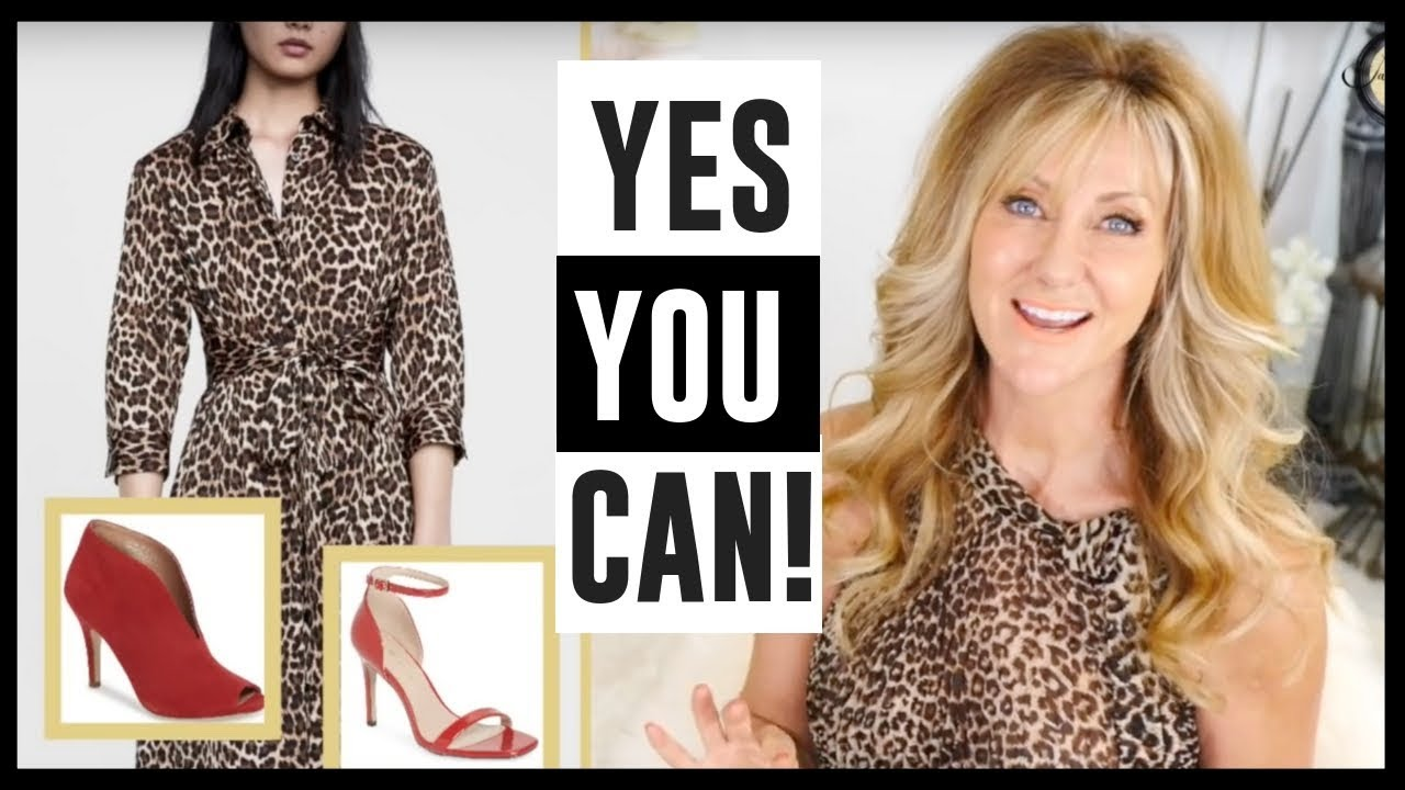 247a0c6da9 How To Wear Animal Print Over 50 And Stay On Trend! fabulous50s ...
