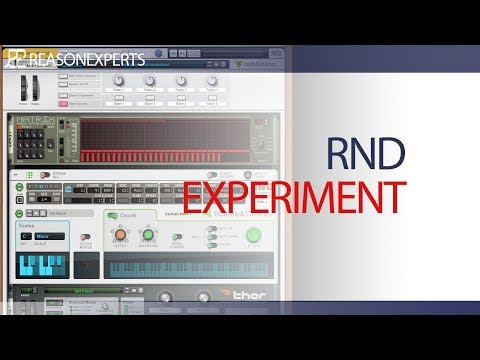 RND Experiment | modwheel in Propellerhead Reason | Reasonexperts