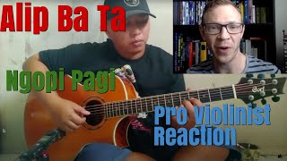 Alip Ba Ta, Ngopi Pagi, Pro Violinist Reaction