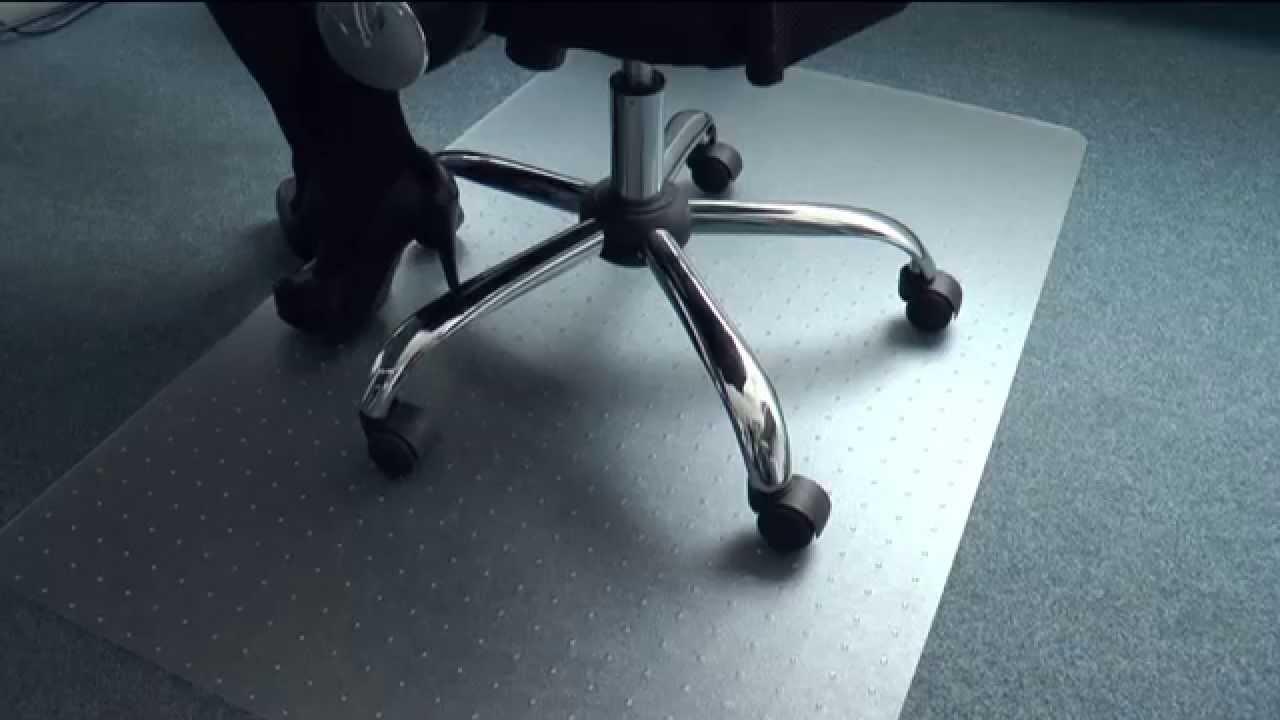 floordirekt pro bodenschutzmatte f r teppichboden polycarbonat youtube. Black Bedroom Furniture Sets. Home Design Ideas