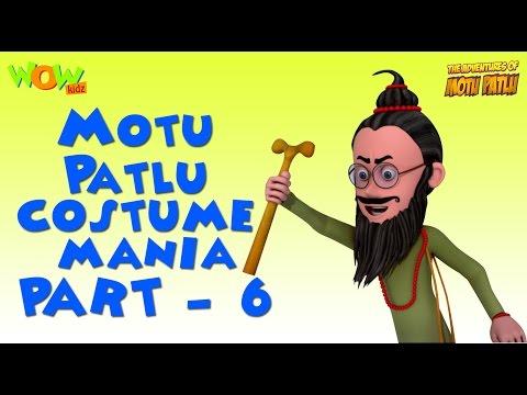 Motu Patlu - Costume Mania - Motu Patlu Compilation Part 6-As seen on Nickelodeon thumbnail
