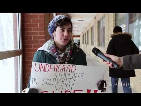 York U Strike 2015 | Undergraduates React