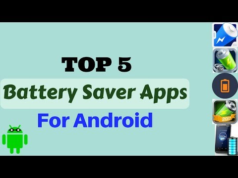 TOP 5 Free Battery Saver Apps For Android - List 2017
