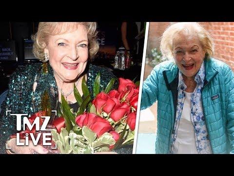Betty White Celebrating 97th Birthday with Poker Night   TMZ Live