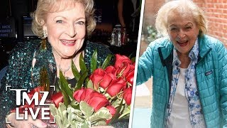Betty White Celebrating 97th Birthday with Poker Night | TMZ Live