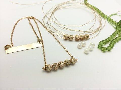 Bar Necklaces - Jewelry Design Tips, Tricks and Trends